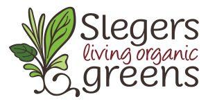 Slegers Living Organic Greens Logo